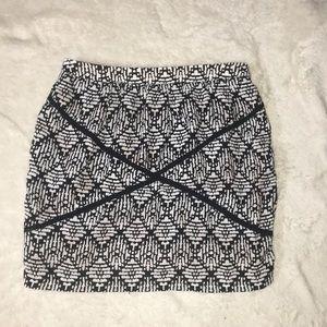 Size M women's mini skirt